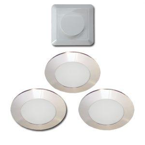 00 4291 300x300 - ELEKTRA LED LD8001 AL-S58 LED spot 2,7 Watt