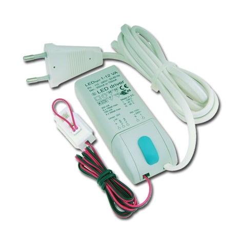 00 4880 - KLEMKO LED driver tbv COB led spots 3 t/m 5x3,3 Watt.