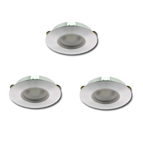 00 5023 - KLEMKO Slimline COB-LED set3 x 3,3 Watt