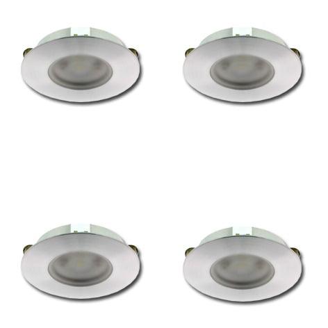 00 5024 - KLEMKO Slimline COB LED set 4 x 3,3 Watt
