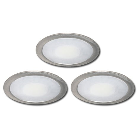 00 5283 - FORMA Sun led set inbouw 3 x 3,5 Watt