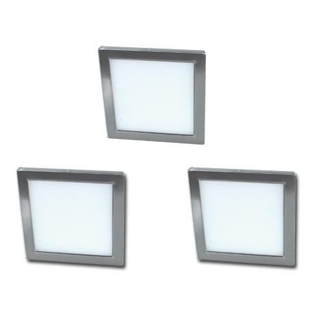 P-LED 15 Panel set 3 x 5,4 Watt