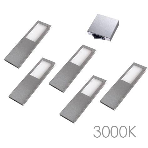 00 5784 - LED 116 SL set 5 x 5,2 Watt Incl. centraalschakelaar