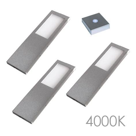00 5795 - LED 116 SL set 3 x 5,2 Watt Incl. infra-rooddimmer