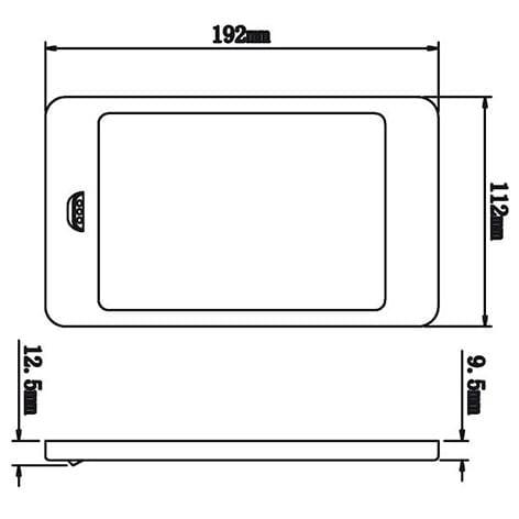 LED 17 Panel armatuur