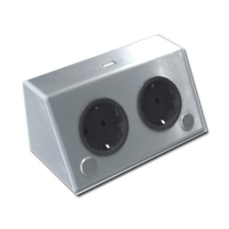 00 8745 - Contactdoos-element THEBEN ST3900/A F 2-voudig