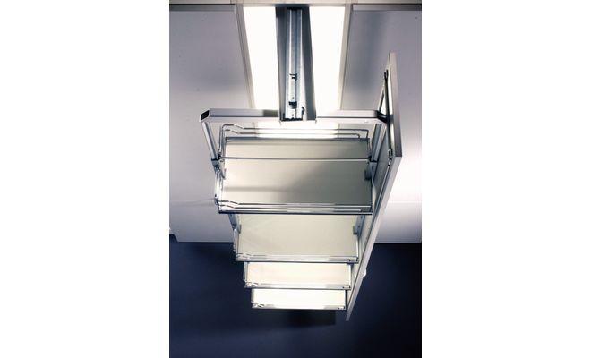 KESSEBOHMER DISPENSA SWING APOTHEKERSKAST tbv kast 300mm. Kleur GRIJS. Inbouwhoogte systeem 2000 - 2200mm