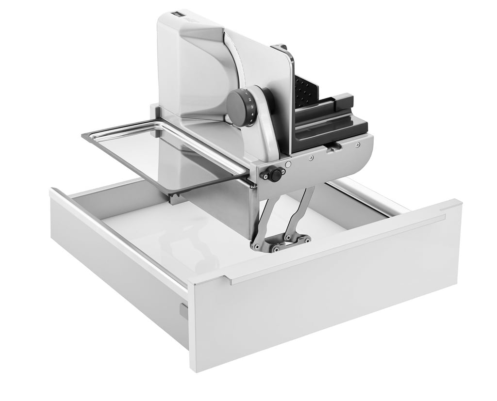ritter universele snijmachine AES 62-H, Universele snijmachines, zilvermetallic, snijproduct links begeleid