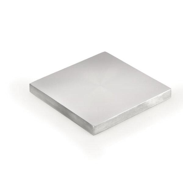 Glasadapterschijf., aluminium, 110 x 110 mm