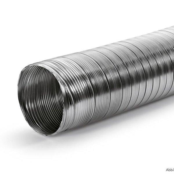 A-PXO flexibele slang aluminium, rond, Slang., ッ 102 mm