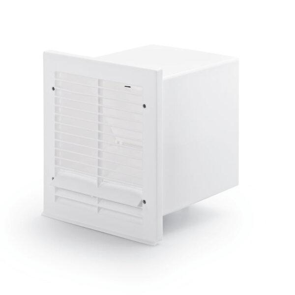 V-Klima A/Z 125 luchtafvoer en luchttoevoer muurdoorvoerunit 2, Muurdoorvoerunit, wit