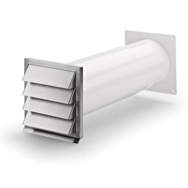 Klima-E muurdoorvoer, roestvrij staal, COMPAIR® Flow 150