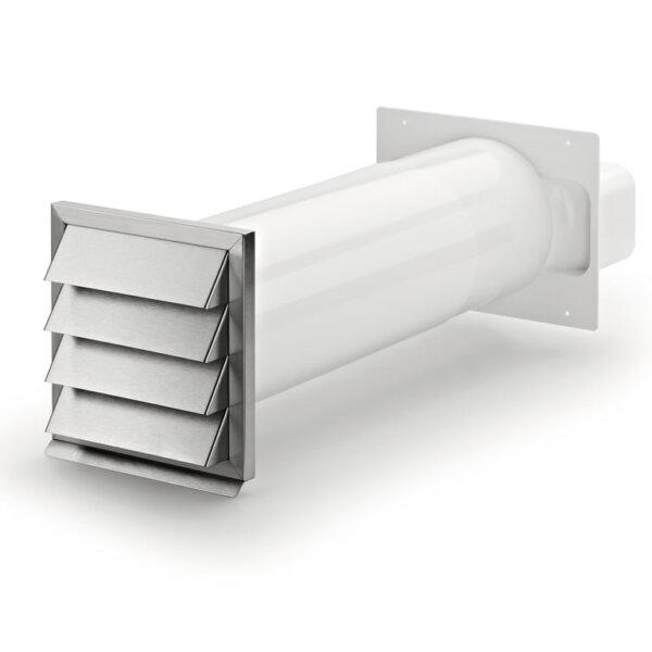 Klima-E flow 150 muurdoorvoer,roestvrij staal, COMPAIR® Flow 150