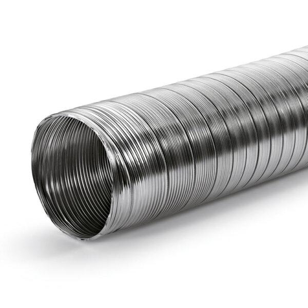 A-PXO flexibele slang aluminium, rond, Slang., ッ 127 mm
