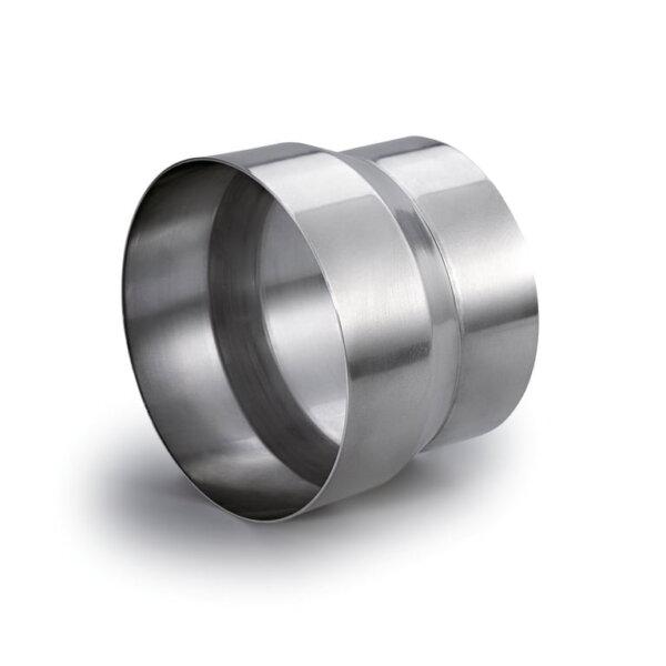 Compair Flow 150 Steekverbinding 150/160, Luchtafvoertoebehoren., aluminium