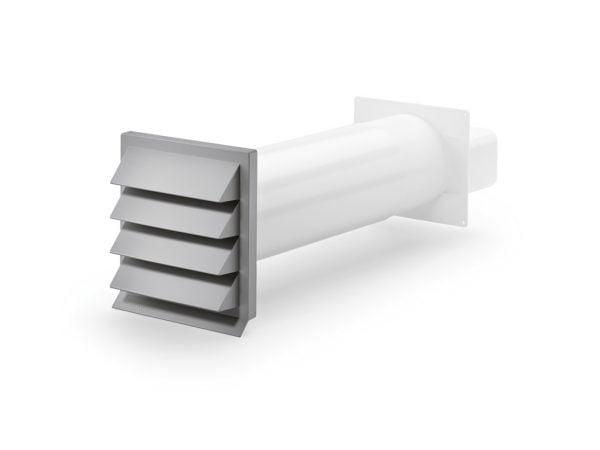 K-Klima-R flow 125 gevelrooster, COMPAIR® Flow 125