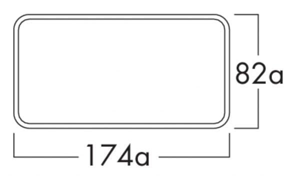 K-Klima-R flow 125 muurdoorvoerunit, Muurdoorvoerunit., lichtgrijs