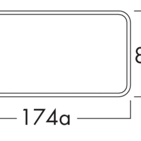 K-Klima-R flow 125 muurdoorvoerunit, Muurdoorvoerunit., antraciet