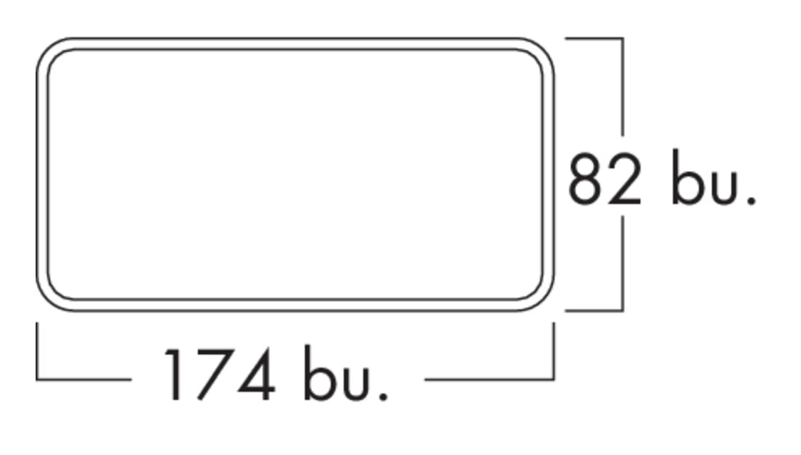 Flow Star GTS 125 F gevelrooster, COMPAIR® Flow 125