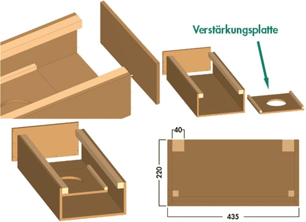 COMPAIRィ Luchtafvoerbekleding eilandoplossing, Luchtafvoertoebehoren., U-vorm