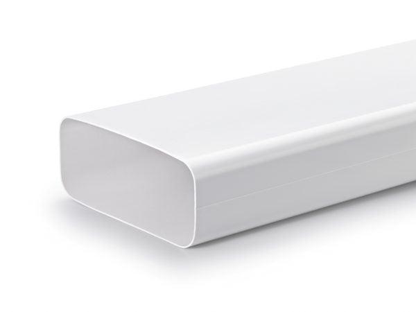 COMPAIR® Flow 150 F-VRO 150  vlakke buis, Luchtafvoer, wit
