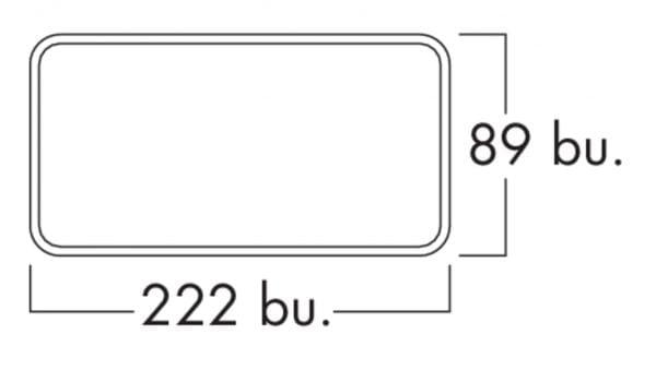 F-VRO 150 vlakke buis, Luchtafvoerbuis., wit