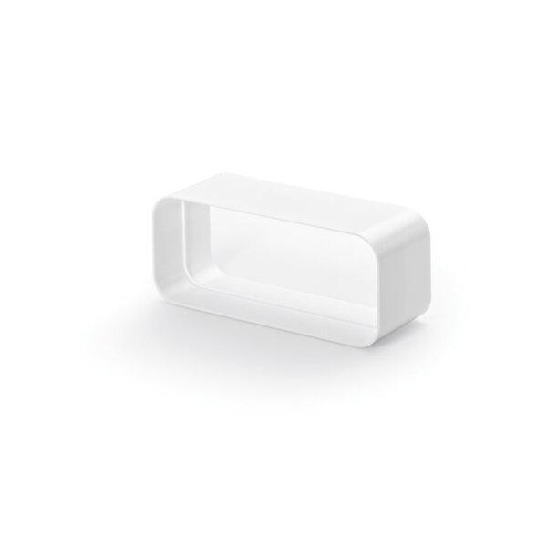 F-RVB Buisverbinding, koppelstuk, wit, COMPAIR® Flow 150