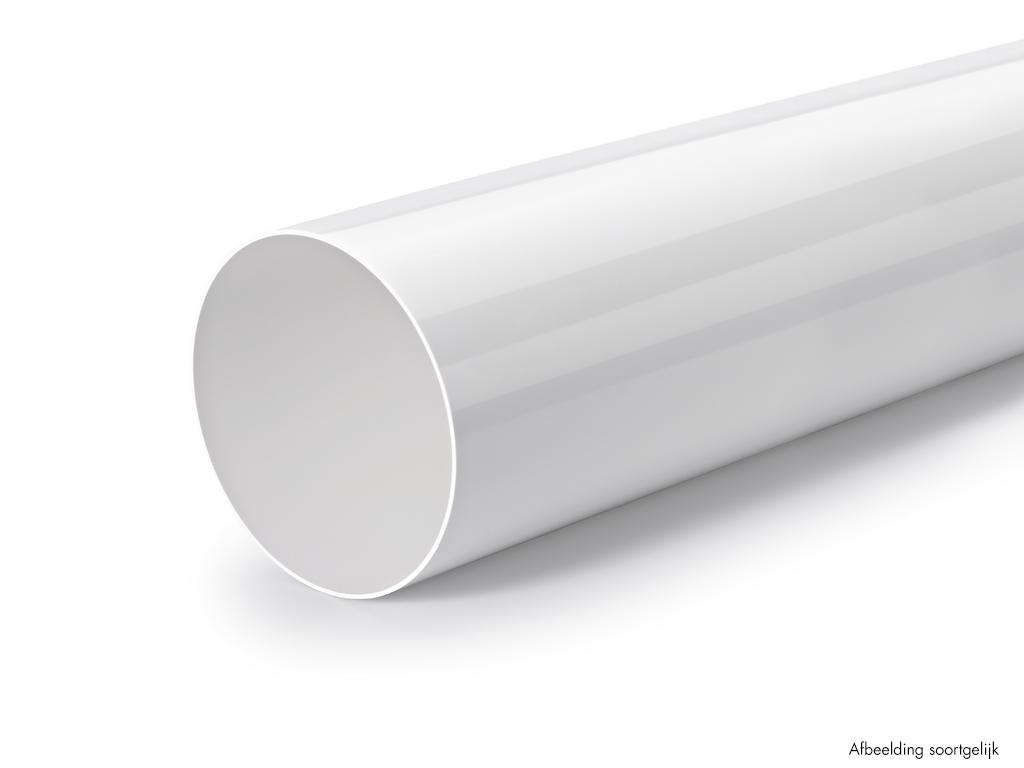 Ronde buis, Luchtafvoer, wit, L 900 mm, COMPAIR® Flow 150