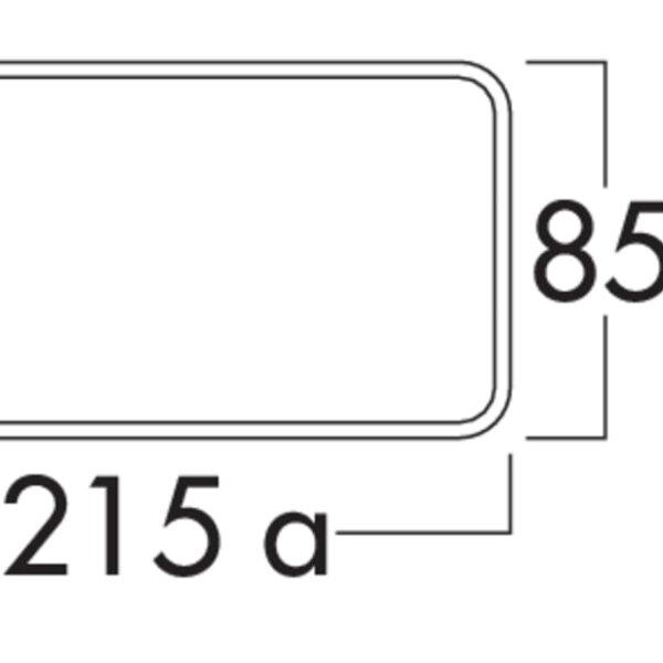 Compair Flow 150 terugslagklep vlakke platte buis