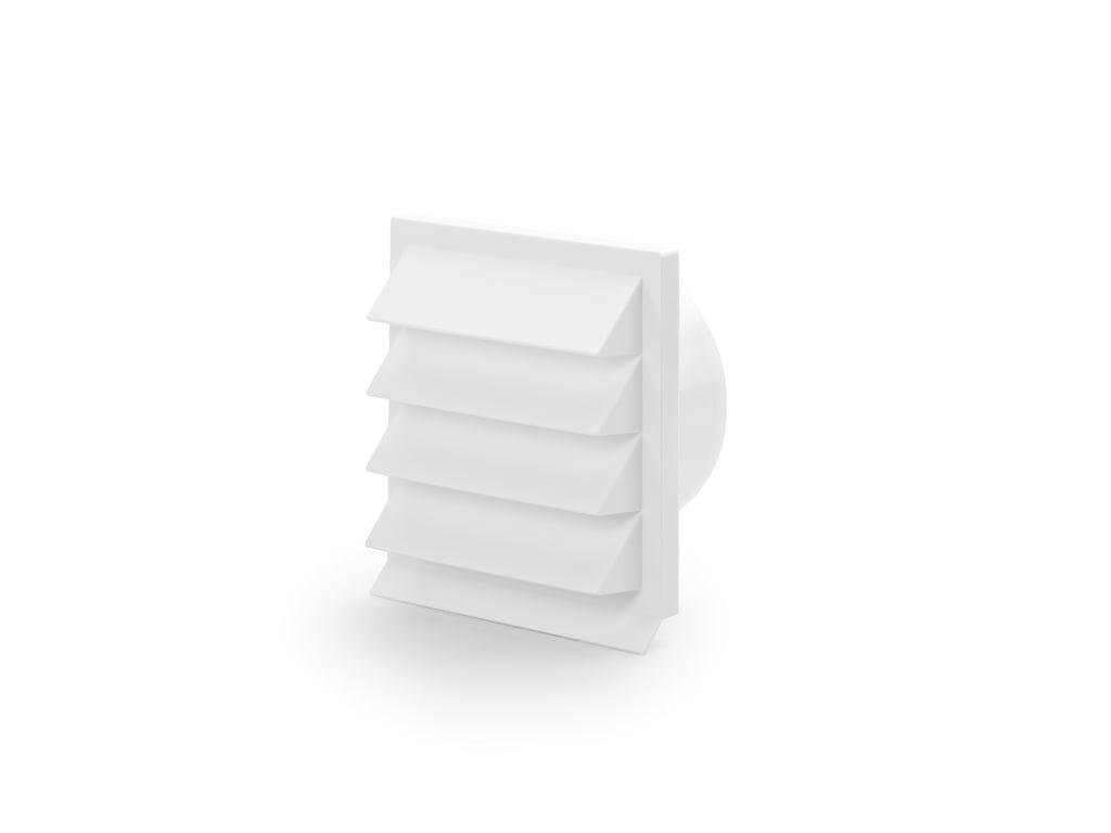 K-Jal 150 Buitenrooster, wit, COMPAIR® Flow 150