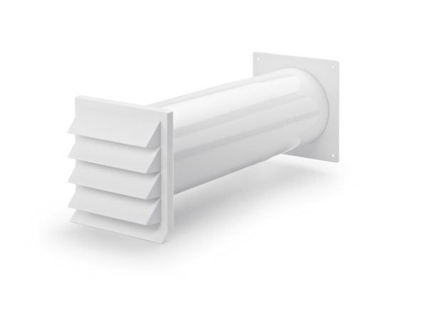 K-Klima-R muurdoorvoerunit, wit, COMPAIR® Flow 150