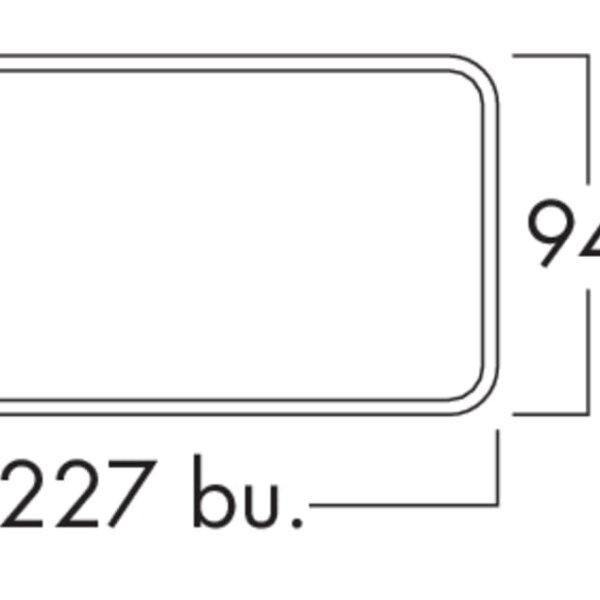 K-Klima-R flow 150 muurdoorvoerunit, Muurdoorvoerunit., wit