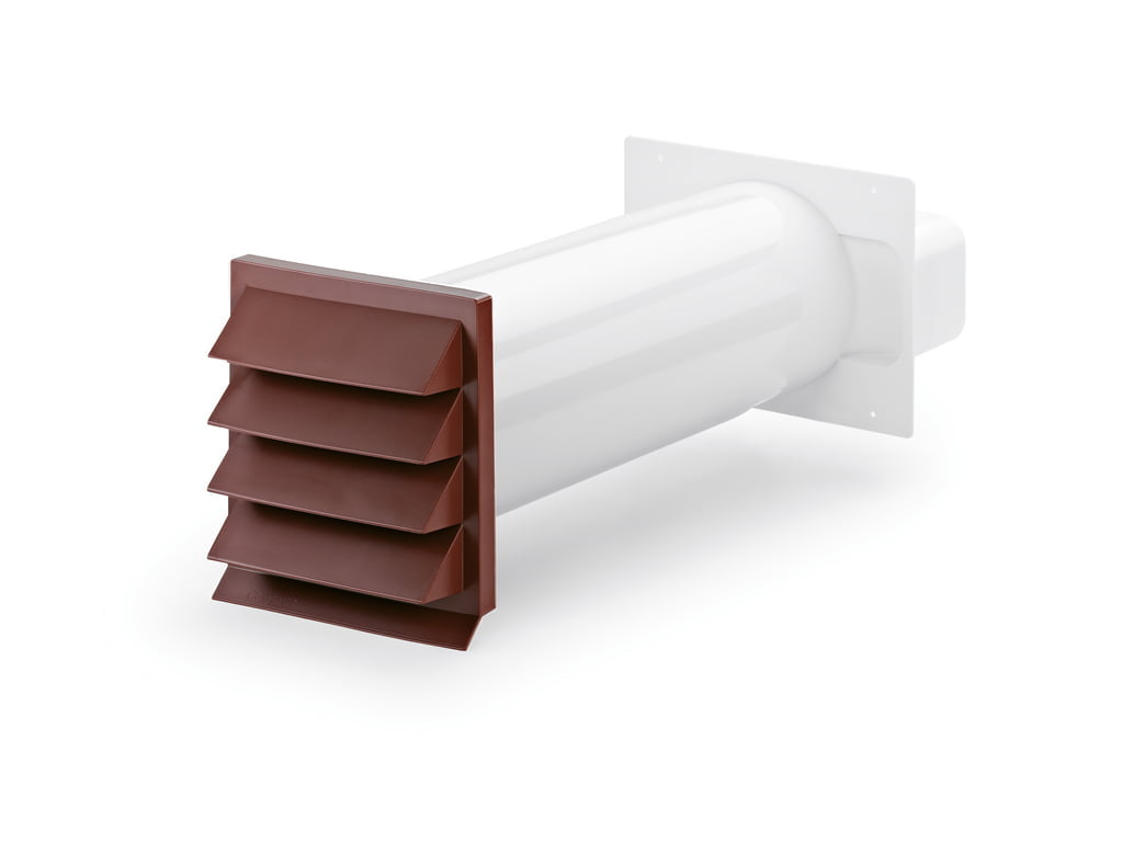 K-Klima-R muurdoorvoerunit, baksteenrood, COMPAIR® Flow 150
