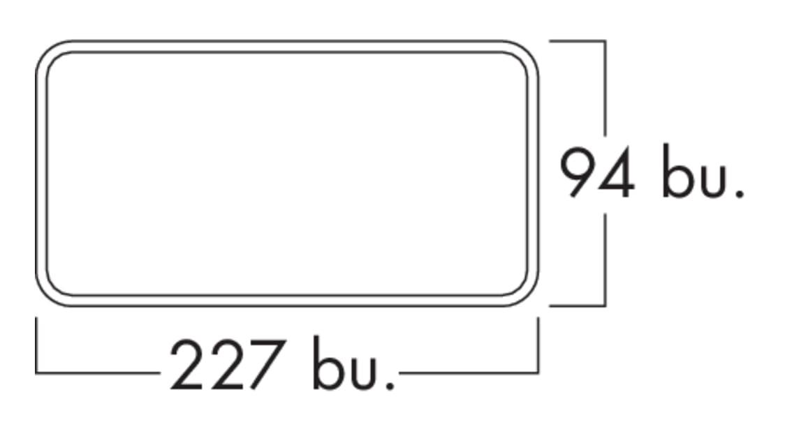K-Klima-R flow 150 muurdoorvoerunit, Muurdoorvoerunit., baksteenrood