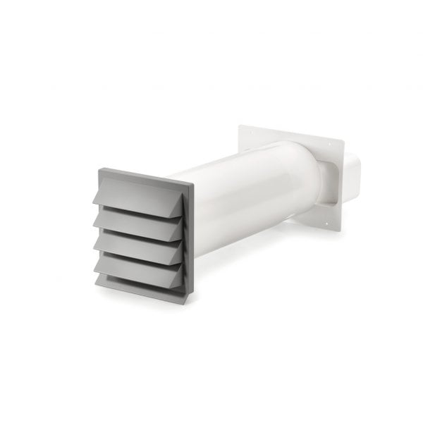 K-Klima-R muurdoorvoer lichtgrijs, COMPAIR® Flow 150