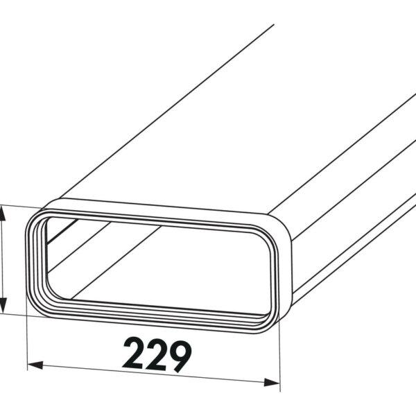 Compair Steel Flow 150 vlakke platte buis