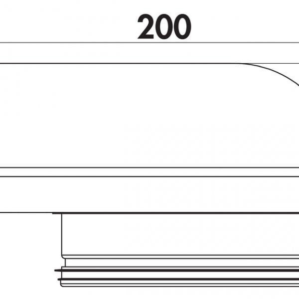 4061012 Compair Steel Flow 150 SF-UR verloopstuk plat rond-1