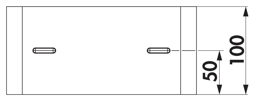 Compair Steel Flow 150 SF-RVB 150 Buisverbinder platte buis-1