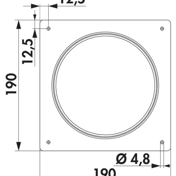 Compair Steel Flow 150 SR 150 muuraansluitmof-1