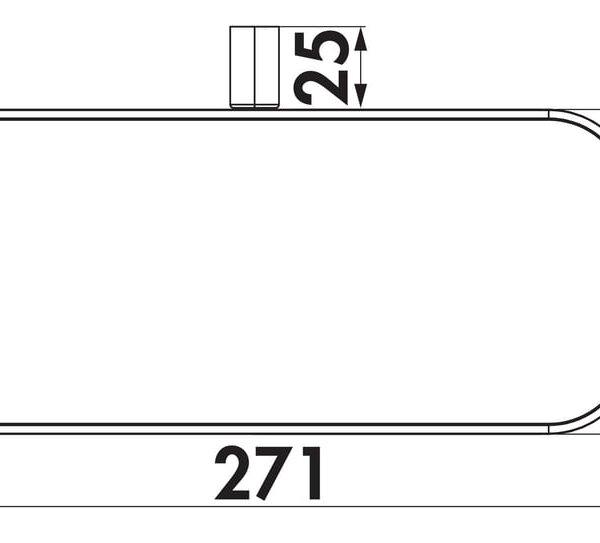 Compair Steel Flow SF150 buishouder montagebeugel-1