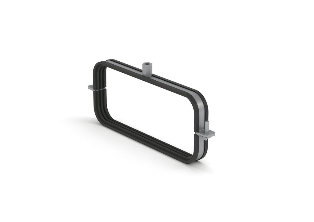 SF-150 buishouder montagebeugel COMPAIR® Steel Flow 150