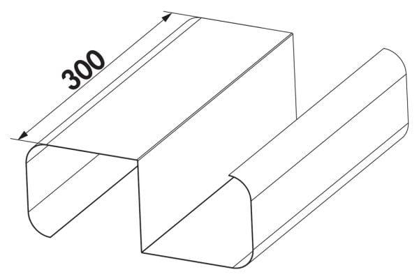 Compair Steel Flow 150 SF-VRO 150 brug tbv platte buis-1