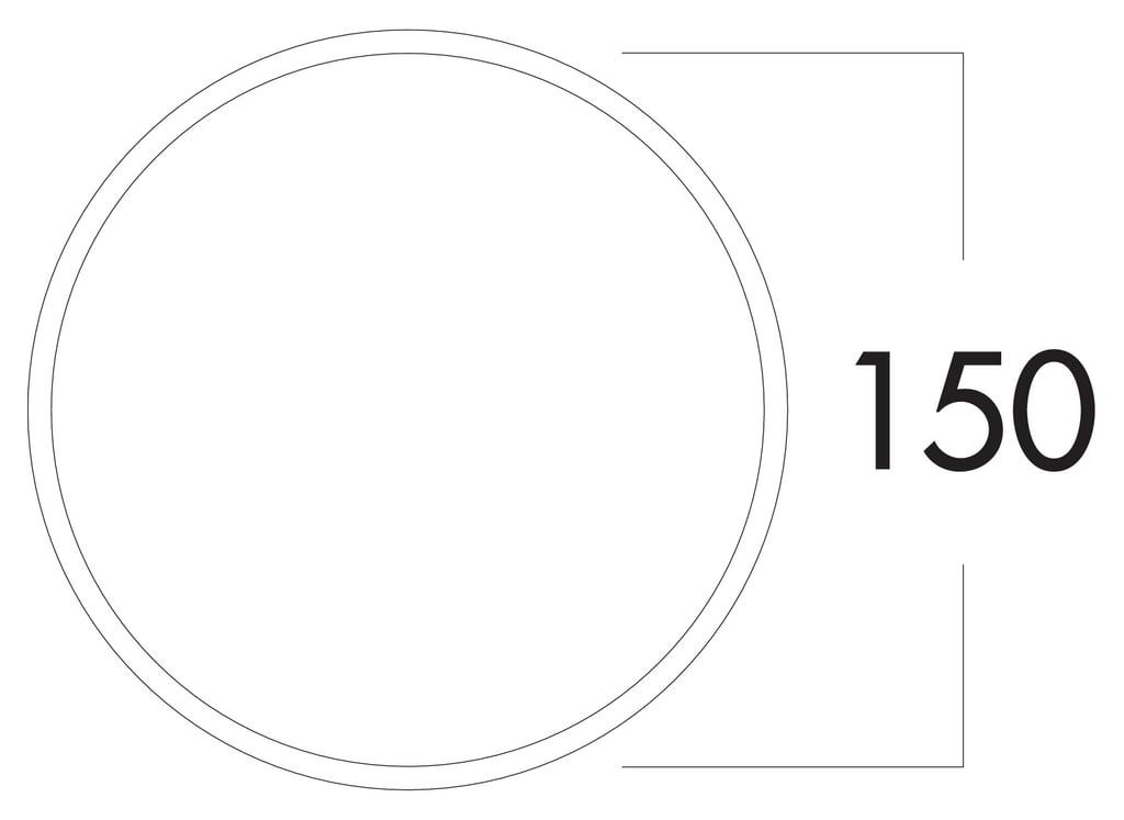 Compair Steel Flow 150 SF-Klima-Blow muurdoorvoer-1