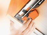 Blum MOVENTO ladegeleiders 300mm met BLUMOTION 30kg Belastbaar
