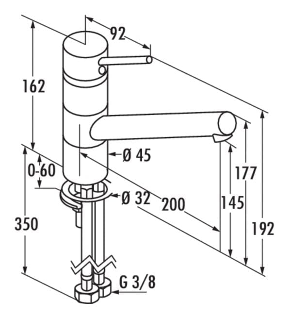 Scope 2 XL, E始greepsmengkraan., roestvrij staalfinish, hoogdruk