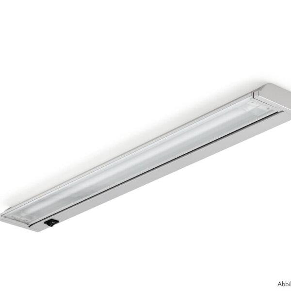 Giro, Onderbouw-/nislamp, zilverkleurig, L 770 mm, 18 W