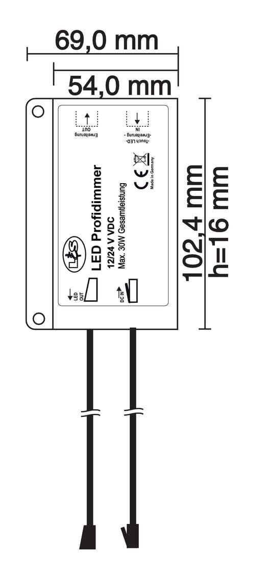 Flipィ LED Uitbreidingsset., wit