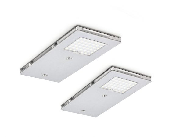 Jarl 1 LED, Onderbouw-/nislamp, Set-2