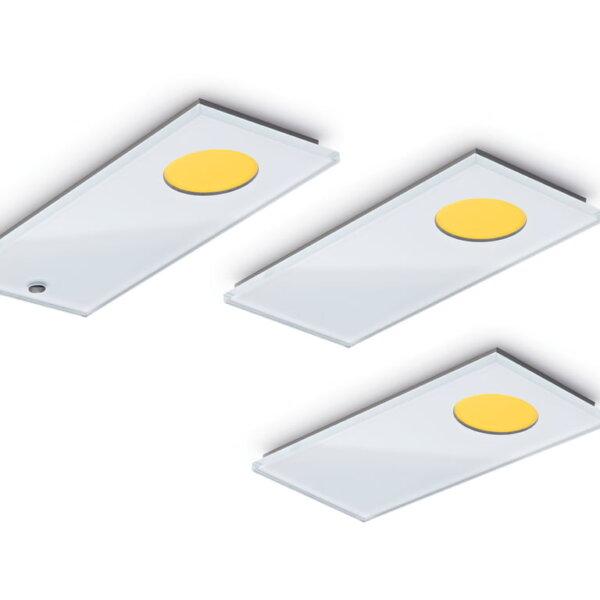 Sun E LED, Onderbouw-/nislamp, Set-3