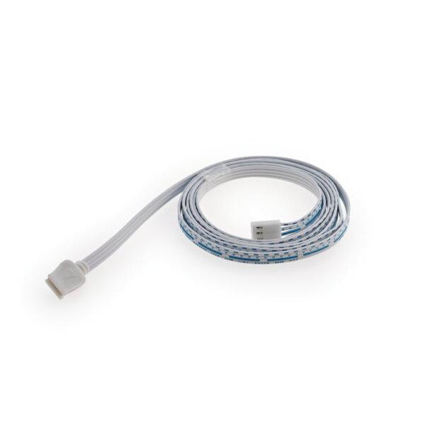 LED voedingsleiding voor Fascia LED Flex Stripes RGB., wit, L 1500 mm
